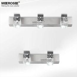 2017 Iron Bathroom Lighting Hot Sale 3 Watt Led Crystal Mirror Wall Sconces Modern Led Mirror