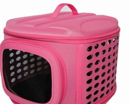 $enCountryForm.capitalKeyWord Canada - EVA Outdoor portable Dog Carrier zipper Dog Supplies Cat Carrier cylinder Pet Bag Multicolor Pet Products Wholesale 77