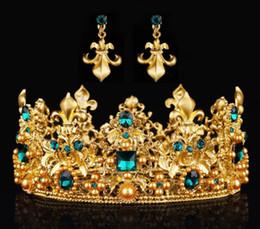 baroque golden bride crown baroque bridal accessories two wedding wedding accessories wholesale