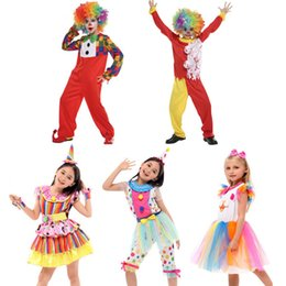Children Circus Clown Cosplay Costume Stage Performance Costumes Kids Masquerade Party Dress Supplies Christmas New Year  sc 1 st  DHgate.com & Clown Kid Costumes Australia | New Featured Clown Kid Costumes at ...