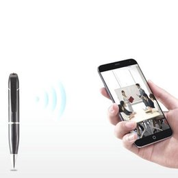 Covert Video Cameras Audio Australia - HD 720P WIFI Pen Camera Wireless pocket DVR Digital Audio Video Recorder Pen Camcorder Streaming Covert Baby Monitor Home Security Camera