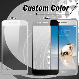 Cobertura completa Protetor de Tela De Vidro Temperado Para ZTE Overture 3 ZTE fanfarra 2 Huawei Ascend XT2 LG Aristo LV3 HTC U11 PLUS com embalagem de varejo em Promoção