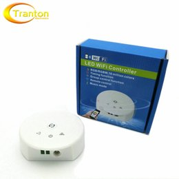 Rgbw Wifi Controller NZ - DC12-24V Wifi RGBW LED Controller for RGB RGBW LED Strips, Apply to IOS & Android System.