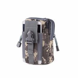 Wholesale Military Coins NZ - Military Tactical Waist Bags Outdoors Sports Tactical Belt Waist Belt Wear Belt Coin Purse 5 6 inch Mobile Phone Bags
