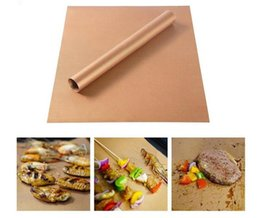 online shopping Copper Grill Mat Barbecue CM Grilling Liner BBQ Portable Non stick Reusable Oven Hotplate Mats Outdoor Picnic Tool