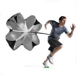 Umbrellas rUnning parachUtes online shopping - Speed Resistance Training Parachute Running Chute Soccer Football Training Speed Chute outdoor sport Running Umbrella