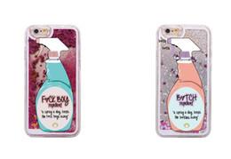 $enCountryForm.capitalKeyWord Canada - Sexy Repellent Spray FBoys Bitch Away Heart Quicksand Glitter Liquid Hard Case For iPhone 7 7Plus 6 6S 6Plus 5 5S SE
