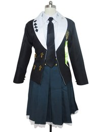 Wholesale heroine costumes resale online - Amnesia Cosplay The Heroine Shujinko Autumn Gakuen Uniform Costume