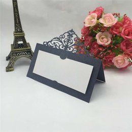 China 2017 Wedding Party Place Name Cards Tableware Personalised Seating Card Decoration 20+ colors available Free Shipping suppliers