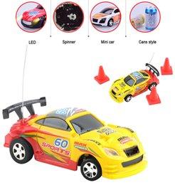 wholesale micro racing vehicle carrinho de controle remoto electric mini rc car high speed coke can car toys for kids