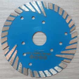 "tools for granite Canada - 6pcs lot 115mm hot press MG turbo 4.5""diamond saw blade for granite,marble and concrete.cutting wheel cutting tool saw blade power tools"