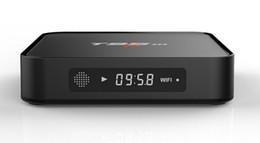 T95m четырехъядерный Android TV Box спутниковые приемники ТВ-тюнер 1080P HDMI WiFi 8GB 4k на Распродаже
