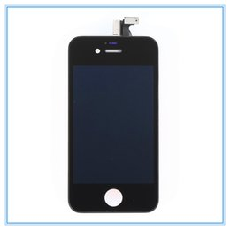Lcd Display For Iphone 4s Australia - DHL Free Shipping High Quality Replacement For iPhone 4 4G 4S LCD Display with Touch Screen Digitizer Frame Full Assembly Replacement