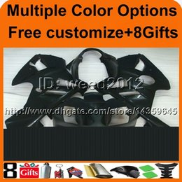 $enCountryForm.capitalKeyWord Canada - 8Gifts+Tank cover matte black ABS cowling ZX12R 2002 2003 2004 motorcycle fairing for Kawasaki Ninja