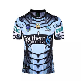 3077f919ab7 NRL National Rugby League Cronulla-Sutherland Sharks jersey  High-temperature heat transfer printing