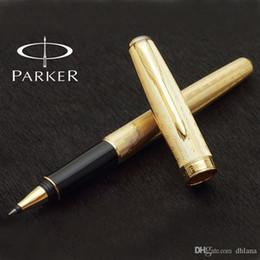 $enCountryForm.capitalKeyWord Australia - Free shipping Free Shipping Parker Sonnet Star Gold Roller Ball Pen School Office Supplies Metal Top Quality Ballpoint Signature Writing Pen