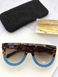 purple red color 2019 - New sunglasses CL41398 gafas de sol sunglass ways ellipse box sunglasses men and women sun glasses color oculos brand di