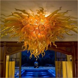 Discount beautiful crystal chandelier lighting - beautiful ceiling lights designer chandelier hand blow glass chandelier lighting clear crystal chandeliers bed room chan