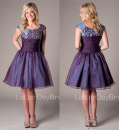 Modest Short Formal Dresses Juniors