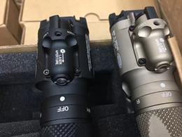 Neue 2017 Tactical Herstellung SF X400V LED-Pistole / Gewehr-Gewehr-Licht mit rotem Laser-Schwarz / Grau SZ0019 im Angebot