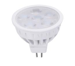 SMD светодиодные лампы gu10 MR16 6 шт. 6 Вт Затемняемый светодиодные прожекторы светодиодные светильники CE UL DHL доставка