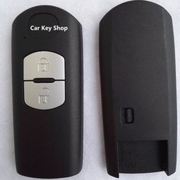 mazda cx smart key Canada - Remote Key Shell for MAZDA 3 6 CX-7 CX-9 MX-5 Miata Smart Key Case Fob 2 Button