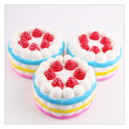 $enCountryForm.capitalKeyWord NZ - High Quality Squishies Slow Rising Strawberry Cake Squishy Cake Slow Rising Squishies Cream Cake Relieves Stress Christmas Toys Gift