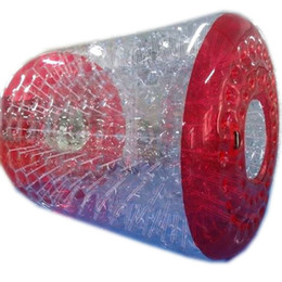 $enCountryForm.capitalKeyWord UK - Free Shipping Water Roller Ball Human Hamster Wheel Zorbing Bubble Roll Cylinder Inflatable Toys 2.4m 2.6m 3m