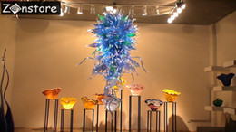 $enCountryForm.capitalKeyWord NZ - Contemporary Italy Design Art Murano Glass Crystal Chandelier handmade LED Blown Glass Chandeliers and pendant lamps