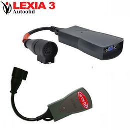 Discount code lexia Wholesale- Lexia 3 Full set Diagbox v7.56 for C-itroen Auto Code Reader Professional Diagnostic-tool Lexia3 pp2000 with