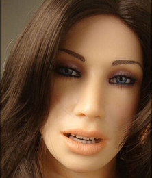 Mannequin Sex Toys For Men Canada - Newest love sex doll head with metal skeleton ,sex toys for men, oral sex doll head free shippings