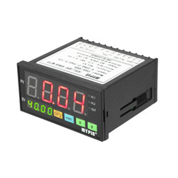 Опт Freeshipping цифровой датчик метр многофункциональный интеллектуальные датчики давления светодиодный дисплей 0-75 МВ / 4-20 мА / 0-10 в 2 реле сигнализации выход