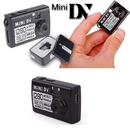 5mp Hd Digital Camera Canada - Mini camcorder HD 1280*960 mini Camera 5MP Digital Video Camera Mini audio video Recorder security surveillance with TF card slot