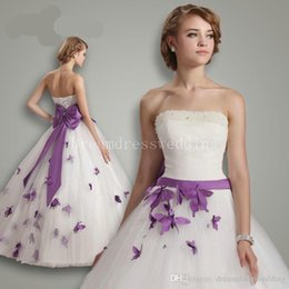 Plus Size Wedding Dresses Butterflies Suppliers | Best Plus Size ...