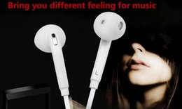 s6 earphones packages 2019 - Premium Stereo Quality Factory Promotion For Samsung S7 S6 S6 Edge Earphone Earbud Headset Headphones 3.5mm Non Packagin