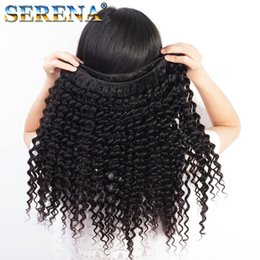 $enCountryForm.capitalKeyWord Australia - Afro Hair Deep Curly Brazilian Curly Bundles 360 Frontal With Bundles Lace Frontal With Bundels Unprocessed Hair Human Hair Extensions