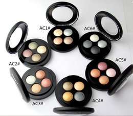 Chinese  Free Shipping 2017 NEW MAKEUP MINERALIZE 4 COLORS EYE SHADOW(6Pieces Lot) manufacturers