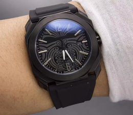 $enCountryForm.capitalKeyWord Australia - New arrival all black high quality fashion design luxury watches men sports wristwatch quartz clock steel business watch super gift for men