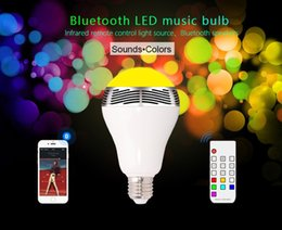 speakers change color NZ - Wholesale- DBPOWER BL05JR 2 in 1 Wireless Bluetooth Light Speaker Bluetooth 4.0 Smart LED Light Bulb Timer Color change