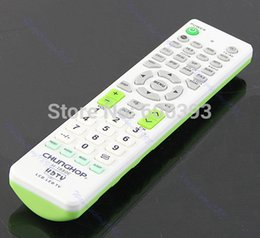 Discount function controller multi - Wholesale- C18 Universal Multi-Function Remote Control Controller For LCD LED HD TV New Sets