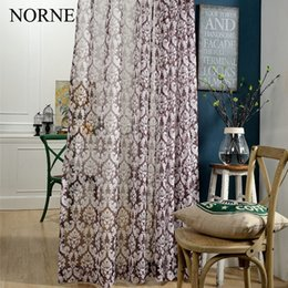$enCountryForm.capitalKeyWord NZ - Norne Modern Tulle Window Curtains For Living Room The Bedroom The Kitchen Cortina(rideaux) Royal Print Sheer Curtains Blinds Drapes