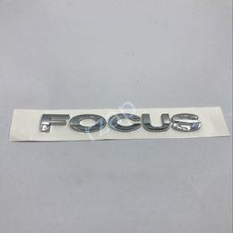 $enCountryForm.capitalKeyWord Canada - 10pcs lot 3D Silver For Ford focus Letters Logo Sticker Car Rear Trunk Badge Nameplate Emblem Decal