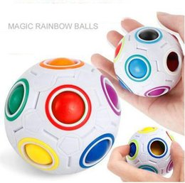 $enCountryForm.capitalKeyWord Australia - DHL Rainbow Ball Magic Cube Speed Football Fun Creative Spherical Puzzles Kids Educational Learning Toys games for Children Adult Gifts