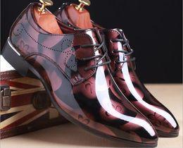 $enCountryForm.capitalKeyWord Canada - Hot Wholesale Fashion Italian Famous Designer Brands High Quality Genuine Leather Slip-On Dress Men Shoes Various Sizes 37-48