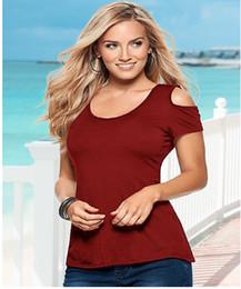Cotton T Shirts Lace Canada - Summer New Sexy Fashion Shirt European American Back Lace Stitching Solid Cotton Shirt Wild T Shirt Plus Size Women S M L XL XXL XXXL