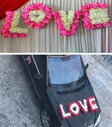 Wedding car flowers decor australia new featured wedding car love silk flower sign wedding car decoration wedding love pendant party stage backdrop decor wedding flower photoprops junglespirit Choice Image