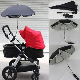 طفل المظلات الشمس البارسول عربة يدفع باليدين حماية الشمس المطر العالمي uv 360 درجة اتجاه قابل للتعديل عربة مظلة مظلة عربة
