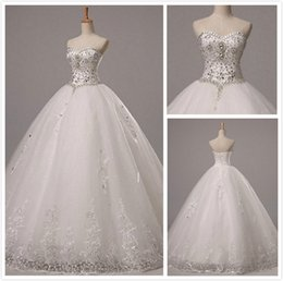 Sparkle Ball Gown Tulle Wedding Dress | DHgate UK