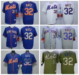 best cheap 2efd7 c0665 mens new york mets 32 steven matz blue with orange jersey ...