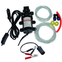Оптовая продажа-60 Вт профессиональный электрический 12 в масляный насос дизельное топливо масляный двигатель масляный экстрактор насос передачи